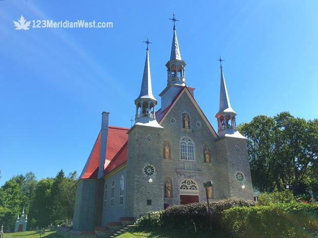 iglesia Isla de Orleans, Québec