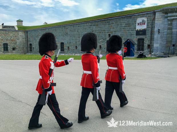 Cambio de guardia Citadelle Québec