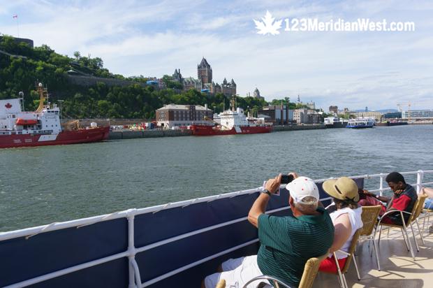 Crucero río San Lorenzo, puerto de Québec