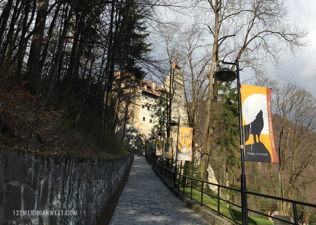 Castillo Bran entrada, Rumanía