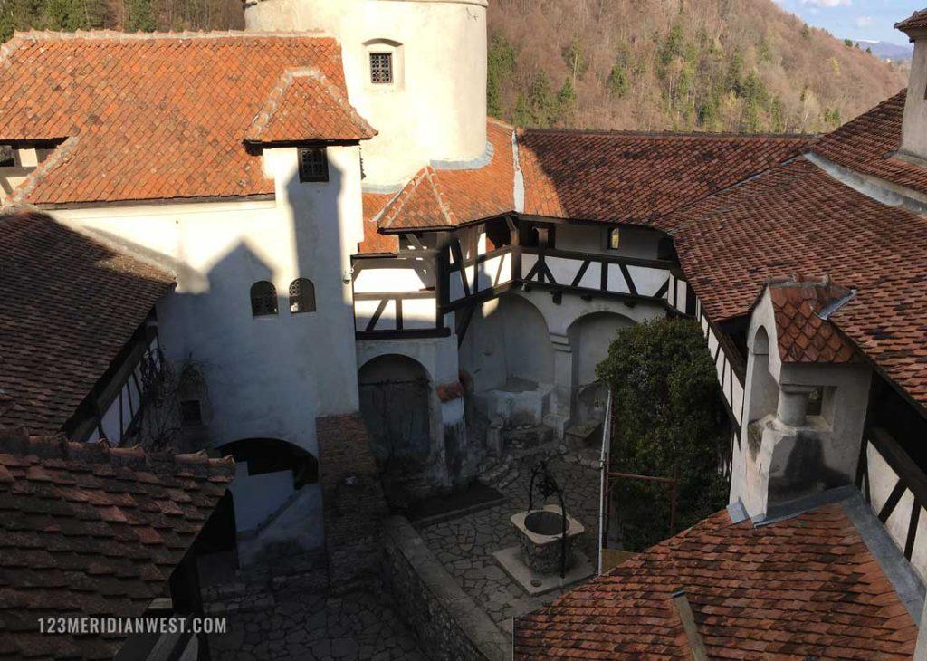 Castillo Bran interior Rumanía