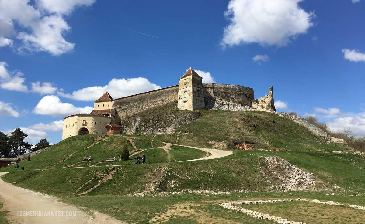 Ciudadela Rasnov, Rumanía. Transilvania.