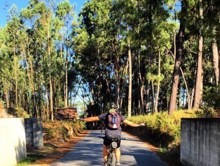 El Camino de Santiago (portugués) en bicicleta
