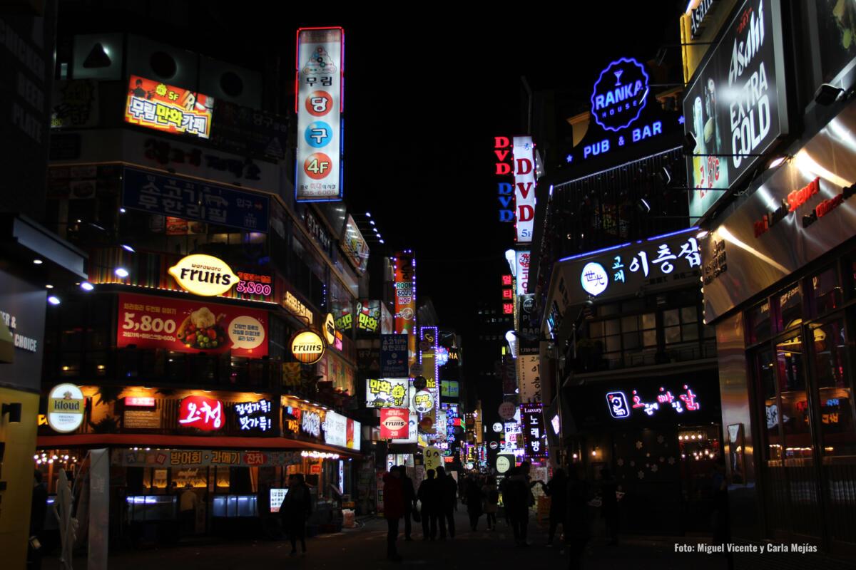 Seul de noche