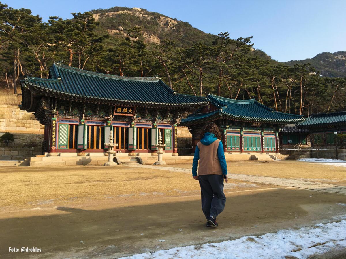 Templo Seul Corea del Sur