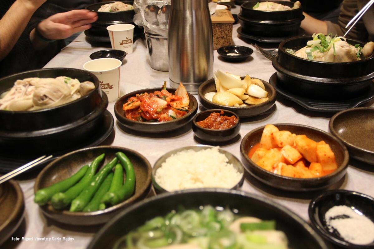 gastronomía Corea