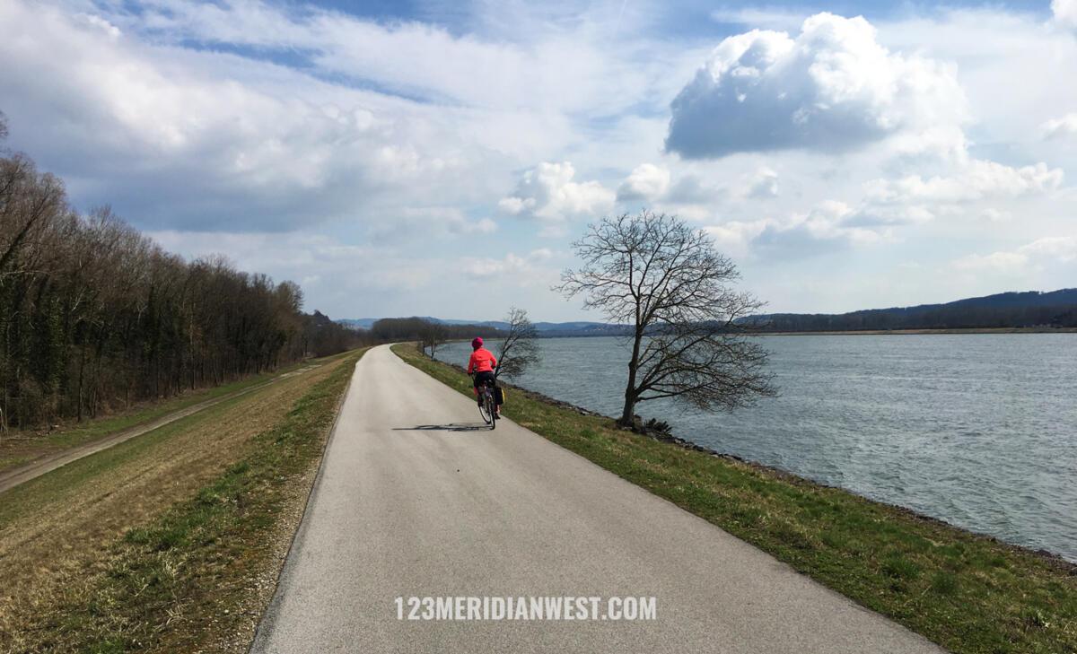 Danubio en bici, Austria