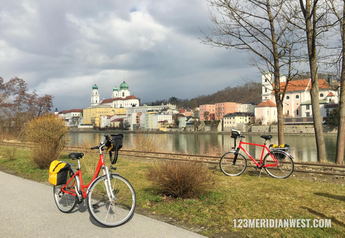 Passau Danubio en bici