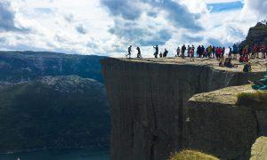 Subida al Preikestolen, el Púlpito noruego