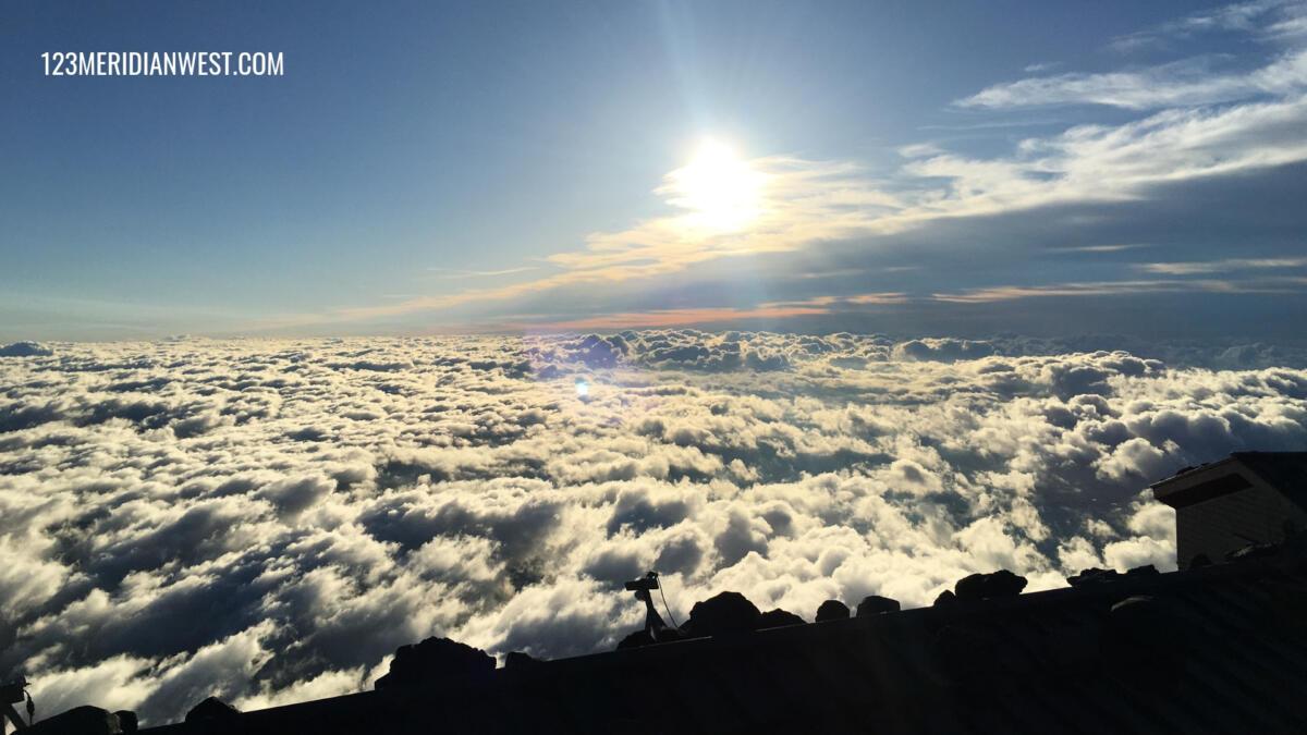 Amanecer Monte Fuji, Japón