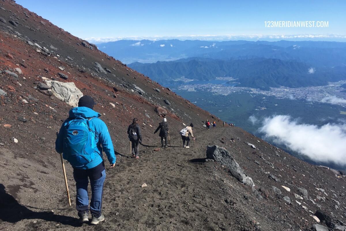 bajada Monte Fuji