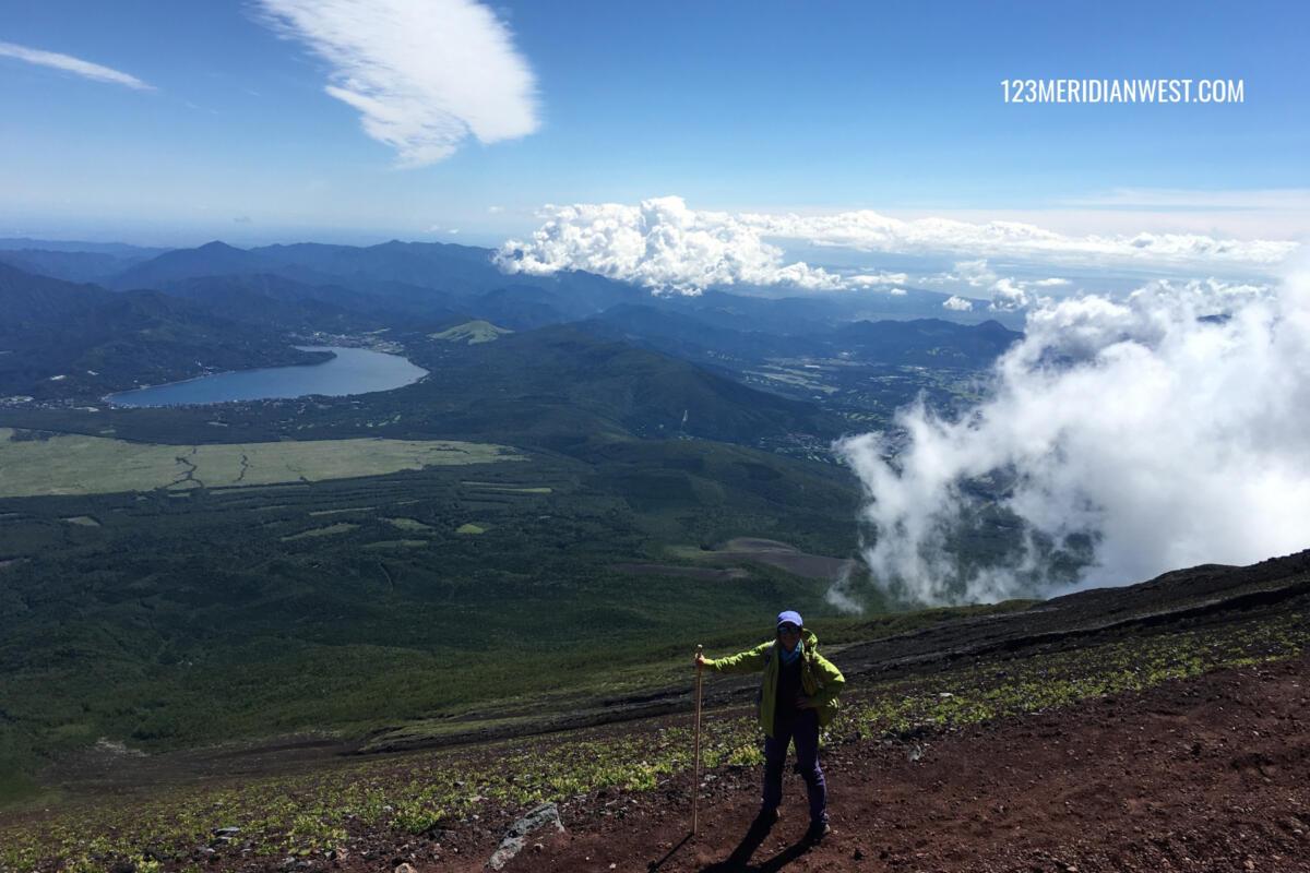 descenso Monte Fuji. Ruta Yoshida
