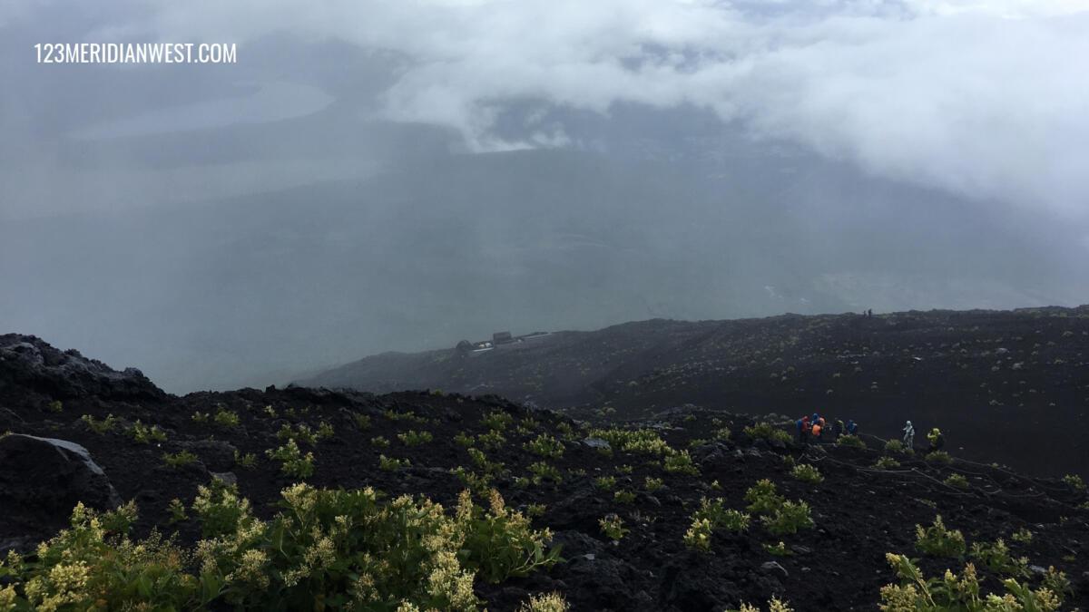 niebla Monte Fuji